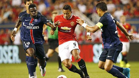 Thấy gì từ M.U sau khi bị PSG ngắt mạch thắng?