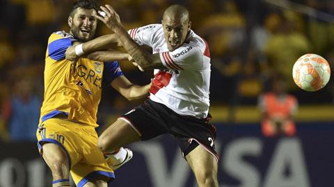 Chung kết lượt đi Copa Libertadores 2015: Tigres đánh rơi lợi thế lớn