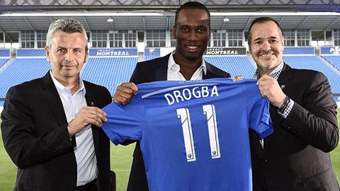 Drogba được NHM Montreal Impact chào đón nồng nhiệt