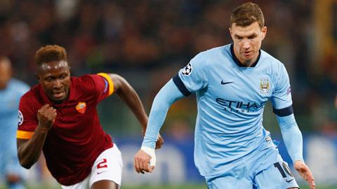 Dzeko đạt thỏa thuận cá nhân với AS Roma