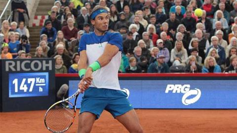 Nadal vào bán kết Hamburg Open, hướng đến danh hiệu thứ 47 trên sân đất nện