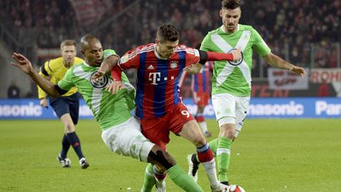 01h30 ngày 2/8, Wolfsburg vs Bayern: Vùi dập kẻ nổi loạn