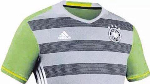 Áo đấu rò rỉ của ĐT Đức tại EURO 2016 bị 'ném đá' tơi bời