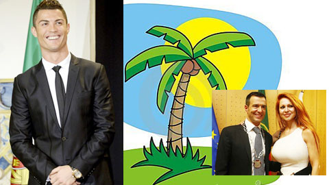 Ronaldo tặng chú rể Mendes nguyên một hòn đảo
