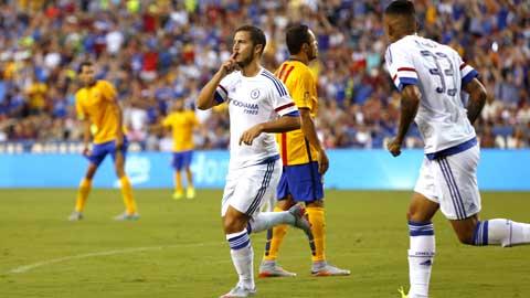 Hàng công Chelsea phụ thuộc Hazard: Càng tốt!