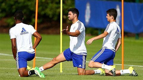 Diego Costa có thể lỡ trận mở màn Premier League 2015/16 của Chelsea