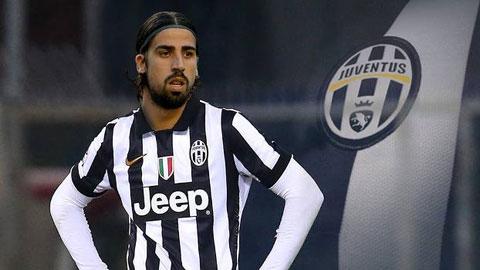Sami Khedira nghỉ 4-6 tuần: Juve nháo nhào tìm tiền vệ