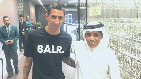 Di Maria kiểm tra y tế tại Qatar, gia nhập PSG mức phí 44,5 triệu bảng