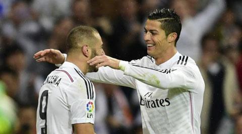 Ronaldo và Benzema không dự Audi Cup cùng Real