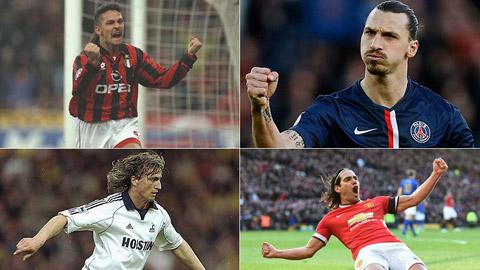 Top 20 cầu thủ được đánh giá cao hơn so với khả năng thực