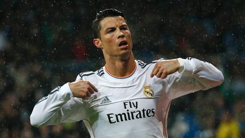Ronaldo trong mùa 2014/15: Chủ yếu ghi bàn trong vòng cấm