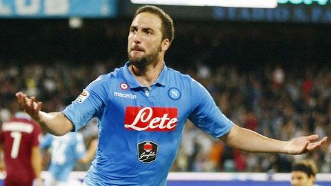 Higuain từ chối gia hạn hợp đồng với Napoli