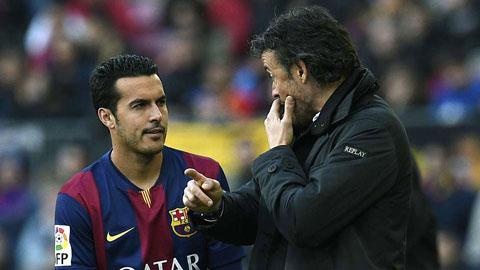 Barca trước trận tranh Cúp Joan Gamper: Lần cuối cho Pedro?