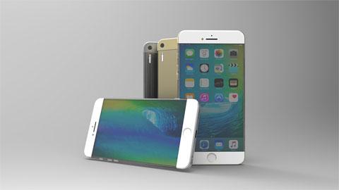 iPhone 7 concept màn hình không viền, dùng kính Gorilla Glass 4