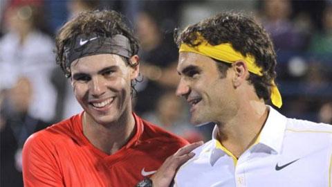 Nadal sẽ sớm vượt qua kỷ lục của Federer