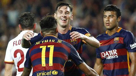 Neymar, Messi khiến Pedro hết cửa ở lại Barca