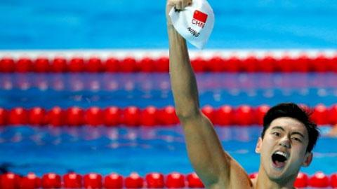 VĐV từng dính doping, Ning Zetao xác lập kỷ lục thế giới 100m bơi tự do