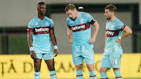 Lượt về vòng sơ loại thứ 3 Europa League: Bóng đá Anh rụng mất 1 đại diện