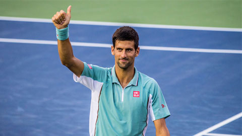 Vắng Federer, Djokovic dễ thở hơn tại Coupe Rogers