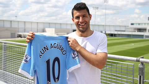 Đổi áo số 10, Aguero hứa kí tặng các fan trót mua áo cũ