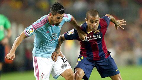 La Liga 2015/16: Barca hỏi mua Nolito để thay Pedro