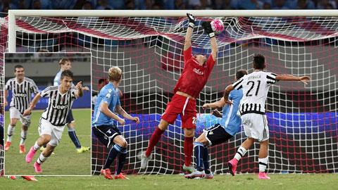 Dybala ra mắt Juventus đầy hứa hẹn