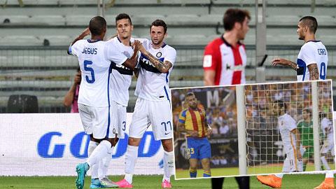 Jovetic & Salah cùng ghi bàn ngày ra mắt CLB mới: Mở hàng tưng bừng