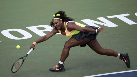 Serena Williams thoát hiểm tại trận mở màn Rogers Cup