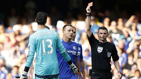 Kháng cáo bất thành, Chelsea mất Courtois ở đại chiến với Man City