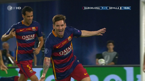 Messi lần đầu trong sự nghiệp lập cú đúp sút phạt