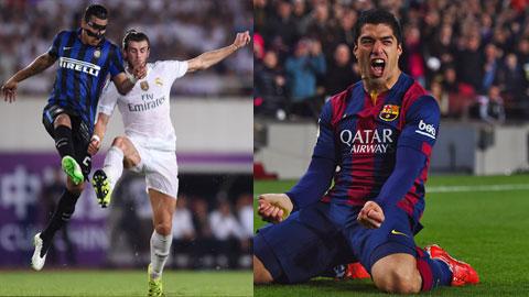 Suarez và Bale cùng sắm vai chính tại Real và Barca: Kẻ bay cao, người lao dốc