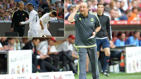 Real Madrid: HLV Benitez lại bị học trò phản ứng - Cái giá của thử nghiệm