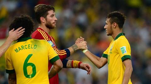 Neymar ngán nhất là Sergio Ramos