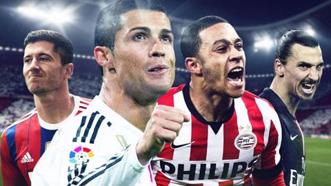 Điểm mặt các ƯCV vô địch La Liga, Serie A và Bundesliga mùa tới