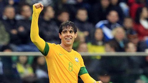 Đội tuyển Brazil triệu tập: Kaka trở lại, Coutinho mất chỗ