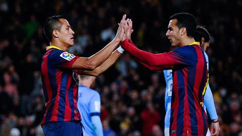 M.U: Nhìn Alexis Sanchez, thấy niềm tin ở Pedro