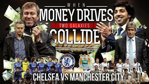 Man City vs Chelsea: Hai sắc thái màu xanh