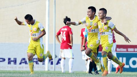 Hà Nội chạm tay vào vé thăng hạng V.League