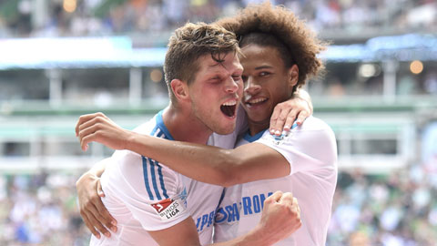 Tường thuật vòng 1 Bundesliga: Ấn tượng Schalke