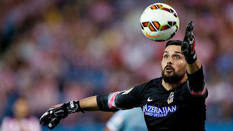 Moya tỏa sáng, Atletico vào chung kết cúp Ramon De Carranza 2015