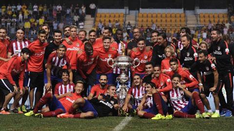Atletico đăng quang Ramon De Carranza Cup lần thứ 10