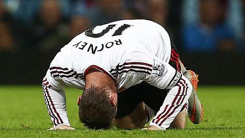 Rooney sa sút: Hệ lụy từ 14 mùa giải liền vắt kiệt sức