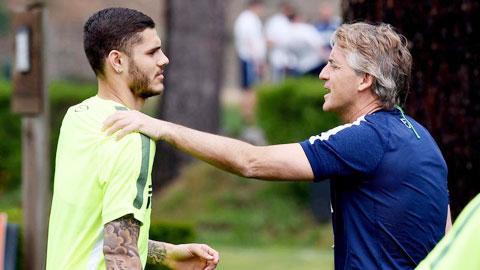 Hàng công Inter: Cơn đau dạ dày của Icardi…