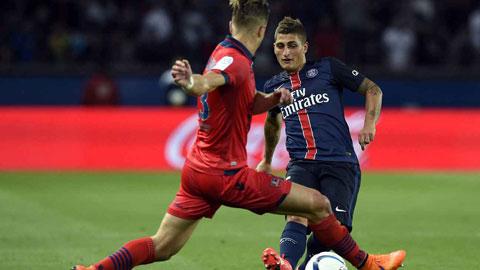 PSG thắng dễ GFC Ajaccio: Dấu ấn Verratti