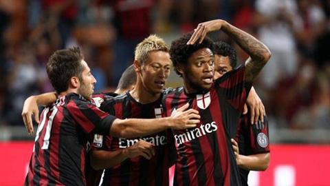 Tân binh Luiz Adriano lập công, Milan thắng nhẹ ở Coppa Italia