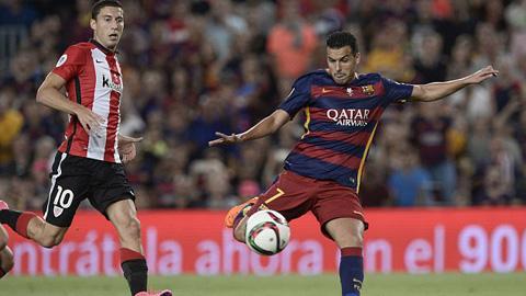 Sếp lớn của M.U có mặt ở Barcelona đàm phán mua Pedro