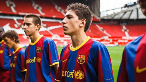 Tài năng La Masia tháo chạy khỏi Barca