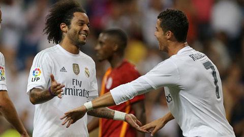 Đội hình của Real ở trận khai màn La Liga: Ronaldo đá cắm