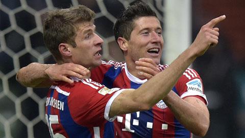 Bundesliga 2015/16: Những họng pháo sớm thông nòng