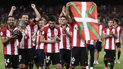 Bilbao giành Siêu cúp Tây Ban Nha: Chiếc cúp của một thế hệ
